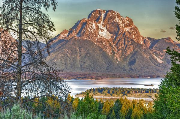 Mt. Moran from Signal Mt.