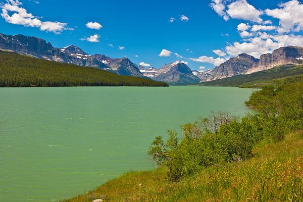 Swift Current Lake<br /> Glacier NP