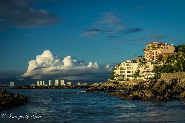 Cumulus Clouds - Puerto Vallarta
