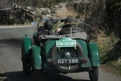 S.M.C. Members marshalling on the Flying Scotsman Rally (20th/ 21st of April 2013)
