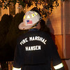 Ridgefield Park NJ Fire Marshal Doug Hansen operating at a working fire at 160 Mt. Vernon St. on October 4th, 2011