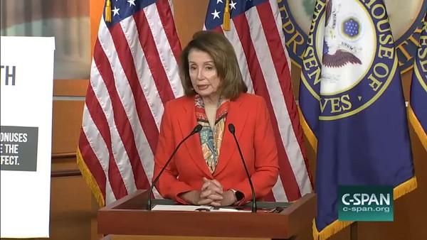 Nancy Pelosi - North Korea - 19 April 2018