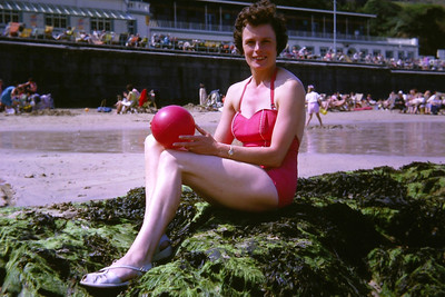 Miss Newquay 1963 (aka Mum)