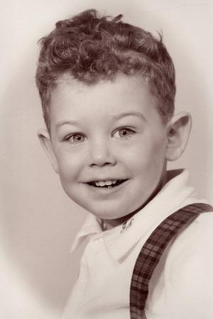 Studio Portrait, about age four