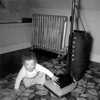 Playing with the Vacuum Cleaner - Age 1