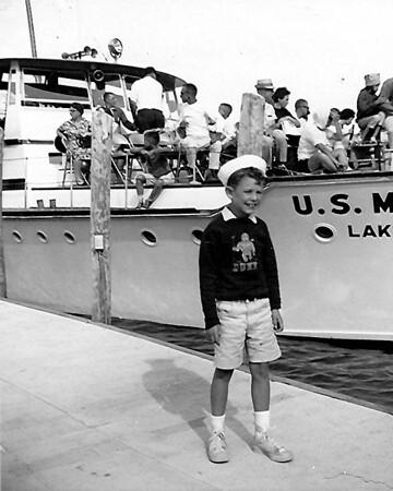 Lake Winnepesaukee, NH - Age 8