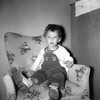Sitting in a Chair - Approx  Age 2