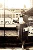 Doris Sobel with Hudson River Dayliner - 1940's