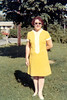 In Yellow Dress - June, 1969