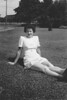 On a Lawn - 1944