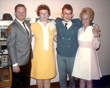 Michael Schiffman, Mom, John and Rose Schiffman - 1969
