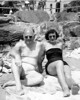 Charles and Doris on the Beach
