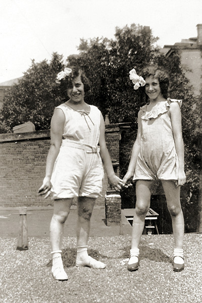 Girls of Summer (perhaps summer of 1928)