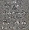 Nettie Mermelstein - Grave #3