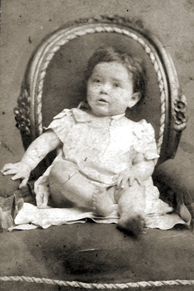 Rose Mermelstein (Sobel) - about 1889