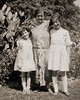 Doris, Rose (mother) and Beatrice (sister) Sobel - about 1922