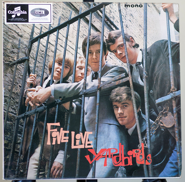 Live Yardbirds with a Young Eric Clapton Five Live Yardbirds,Columbia 1964 Uk
