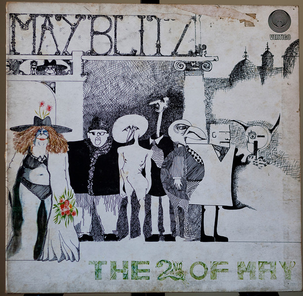 May Blitz  -a hard rock record on the very collectable Vertigo Label -The 2nd of May -Vertigo -1971 -Uk