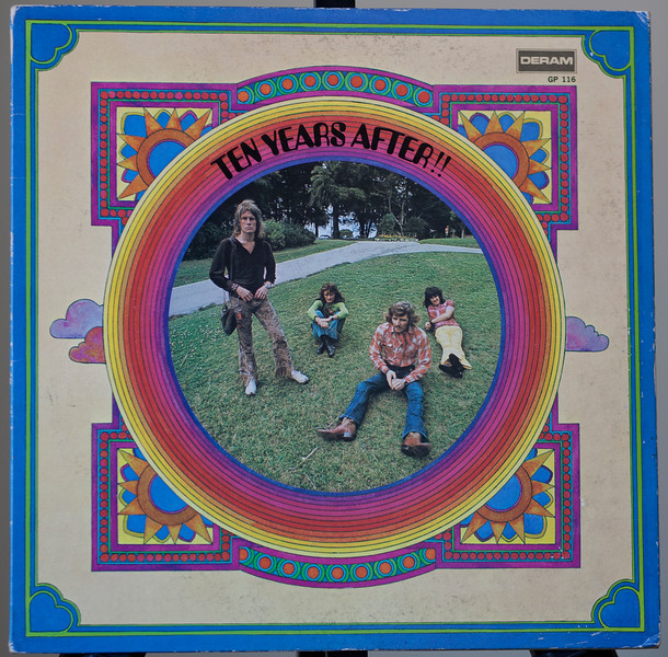 Ten Years After ,complation Japan only release - Deram  japan 1972