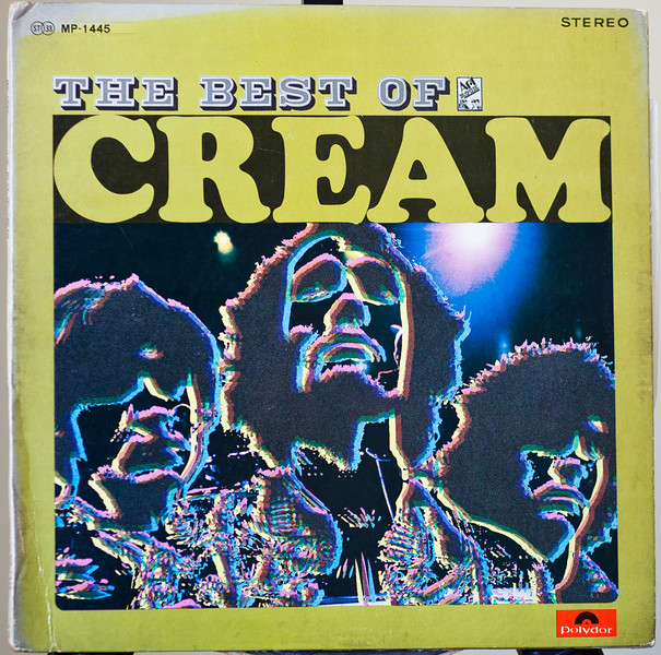 Cream The Best of a Japenes release - The Best of Cream Polydor -Jap 1969