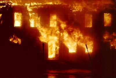 Paterson General Alarm +++ Fulton Street Fire  4-29-78.