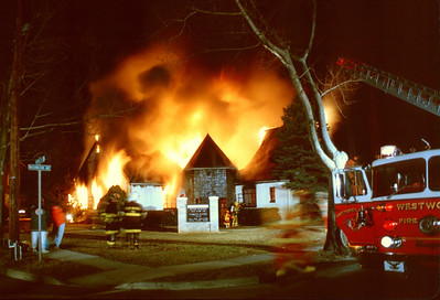 Westwood General Alarm at 100 Washington Ave. on 3-15-92.