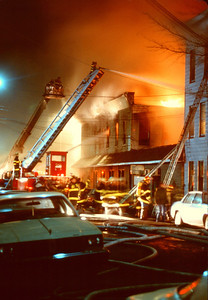 Union City General Alarm at 2400 - 2410 Bergenline Ave. on 2-11-93.
