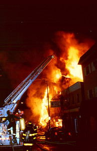 Union City General Alarm at 10th and Summit Ave. on 4-3-91.