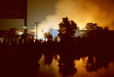 "Passaic General Alarm +++ at 8th St. and Beyond, ""Labor Day Fire"" on 9-2-85."