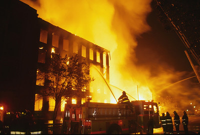 Newark 4th alarm at Mc Carter and Clark St. on 9-3-98.
