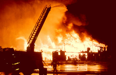 Paterson General Alarm, Distillin Lumber, on 18th Ave. on 9-18-87.