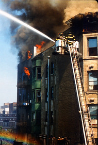 Manhattan 8th alarm at 149th Street between Amsterdam and Broadway on 9-26-99.