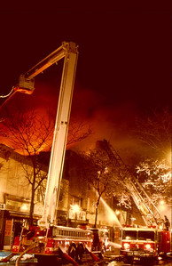 Mount Vernon, N.Y. 4th alarm on 4th Ave. on 12-30-93.