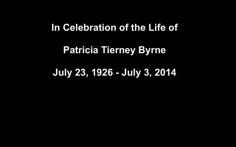 Pat Tierney Byrne Memorial Celebration