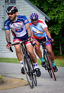 Ride 2 Recovery participants in the 2015 United Healthcare Memorial Challenge. Ride 2 Recovery is a program in which U.S. Military Veterans cycle to heal from the seen and unseen wounds of war. Photos by J. Stivers.