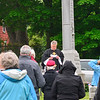 KRISTOPHER RADDER — BRATTLEBORO REFORMER<br /> Members of the American Legion and the VFW honor local veterans that have died during Memorial Day on Monday, May 25, 2020.
