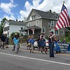Richard Payerchin - The Morning Journal <br> Members of Cub Scouts Pack 435 of Birmingham march during the Florence Township/Birmingham Memorial Day Parade on May 29, 2017.