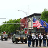 The beginning of the Goshen Memorial Day parade makes its way through the downtown Monday morning.