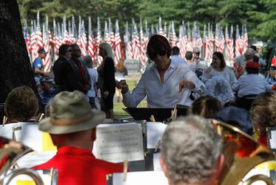 Memorial Day Ceremony Monday May 29, 2017 at the Chico Cemetery in Chico, California. (Emily Bertolino -- Enterprise-Record)
