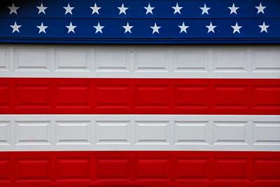 Stars & Stripes Garage Mural Beloit WI_9288