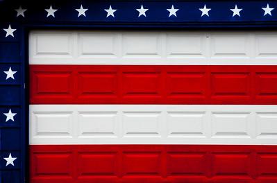 Stars & Strips Garage Flag Mural Beloit WI_9290