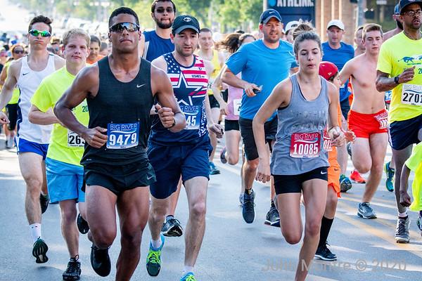 Memorial Day Run --  2018, 2017, 2016 and 2015