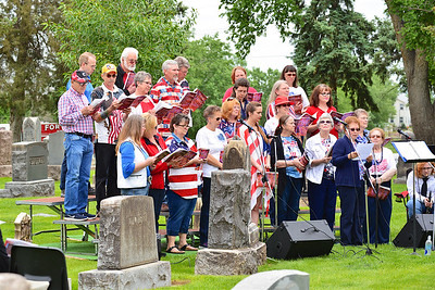 Memorial Day Services - Ft. Lupton, CO, Hillside Cemetery - 5-28-2018