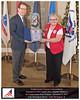 Congressional Veteran Commendation presented to Captain Daphne Matthews
