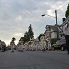 MARK ROBARGE - mrobarge@troyrecord.com<br /> The Yankee Doodle Band from Fort Crailo American Legion Post 471 of Rensselaer marches down Columbia Street in Cohoes during the city's annual Memorial Day parade on Thursday night.