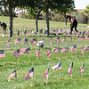 Approximately 300 volunteers placed 58,000 American flags at gravesides in the Santa Fe National Cemetery Friday morning as part of the Memorial Day observance. The Santa Fe National Cemetery will host its annual Memorial Day Ceremony at 10 a.m. on May 29. The cemetery is located at 501 N. Guadalupe Street in Santa Fe. Clyde Mueller/The New Mexican