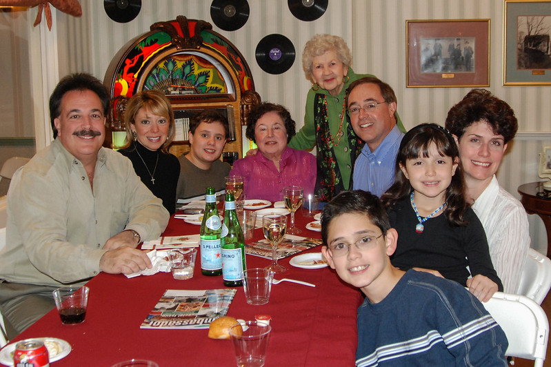 12/07/06  Greens Holiday Gala: Adele's family gather around her to celebrate in the Cafe.