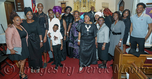 Memorial Service for Mrs. Elaine Clarke Witherspoon