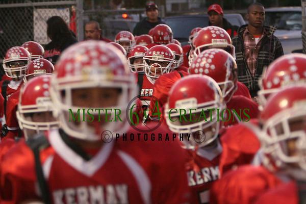 Memorial Youth Football PeeWees vs Kerman Lions