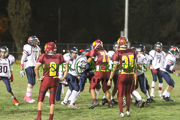 SR - PLAYOFFS Memorial 22 vs Los Banos 20 - October 30, 2010